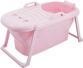 Bañera plegable Fácil De Transportar Y Ahorrar Espacio Bañera Plegable De PP En Color Liso Piscina For Bebés Barril De Bañ...
