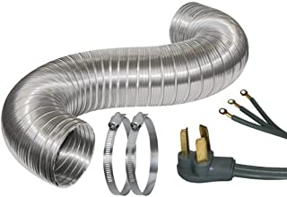 Certified Appliance Accessories Certified Appliance 77004 5 Dryer Duct Kit with 6-Feet Cord