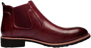 Giles Jones Men's Chelsea Boots Autumn Winter Comfort Anti-Slip Shockproof Ankle Boots