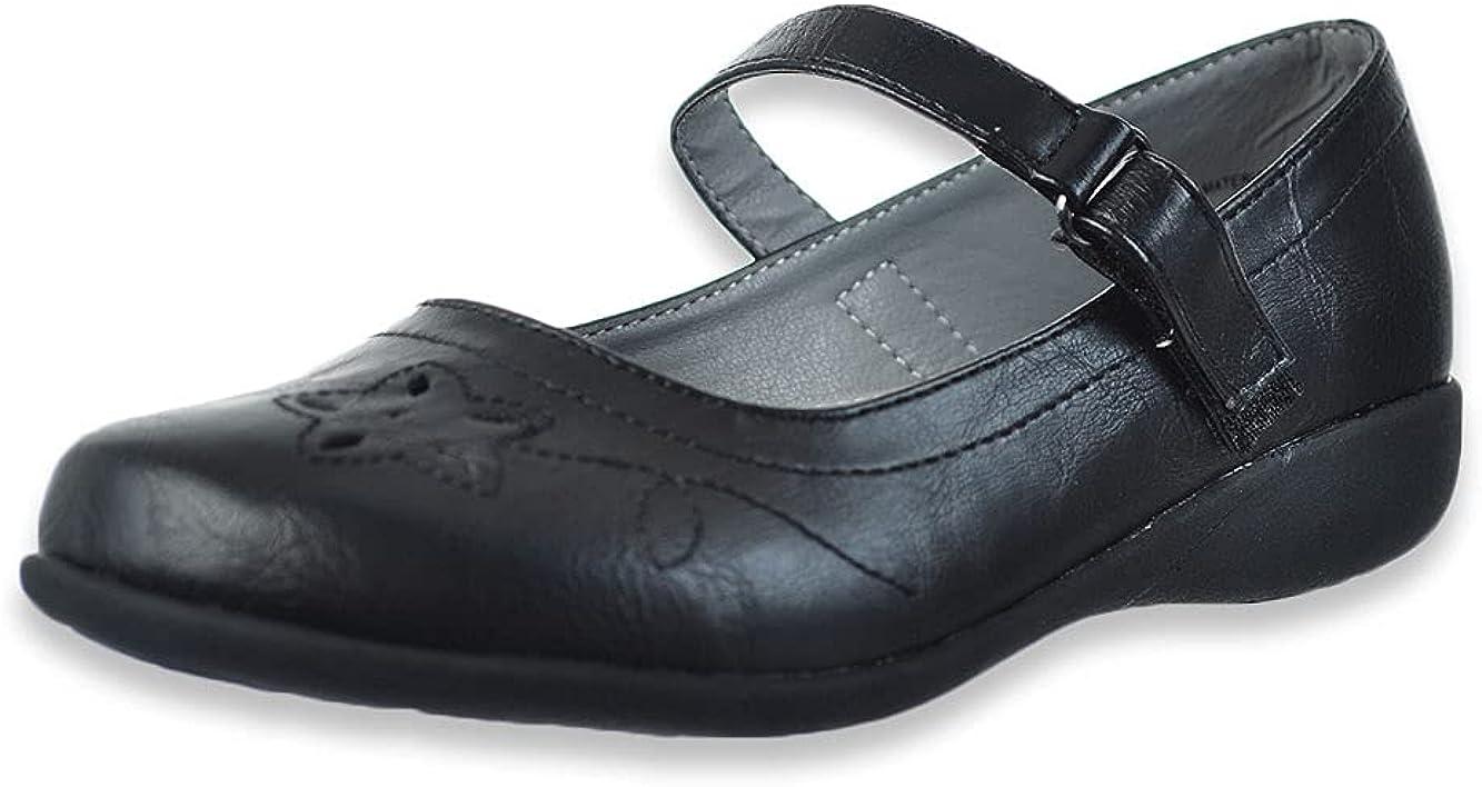 School Rider Girls' Strap Shoes
