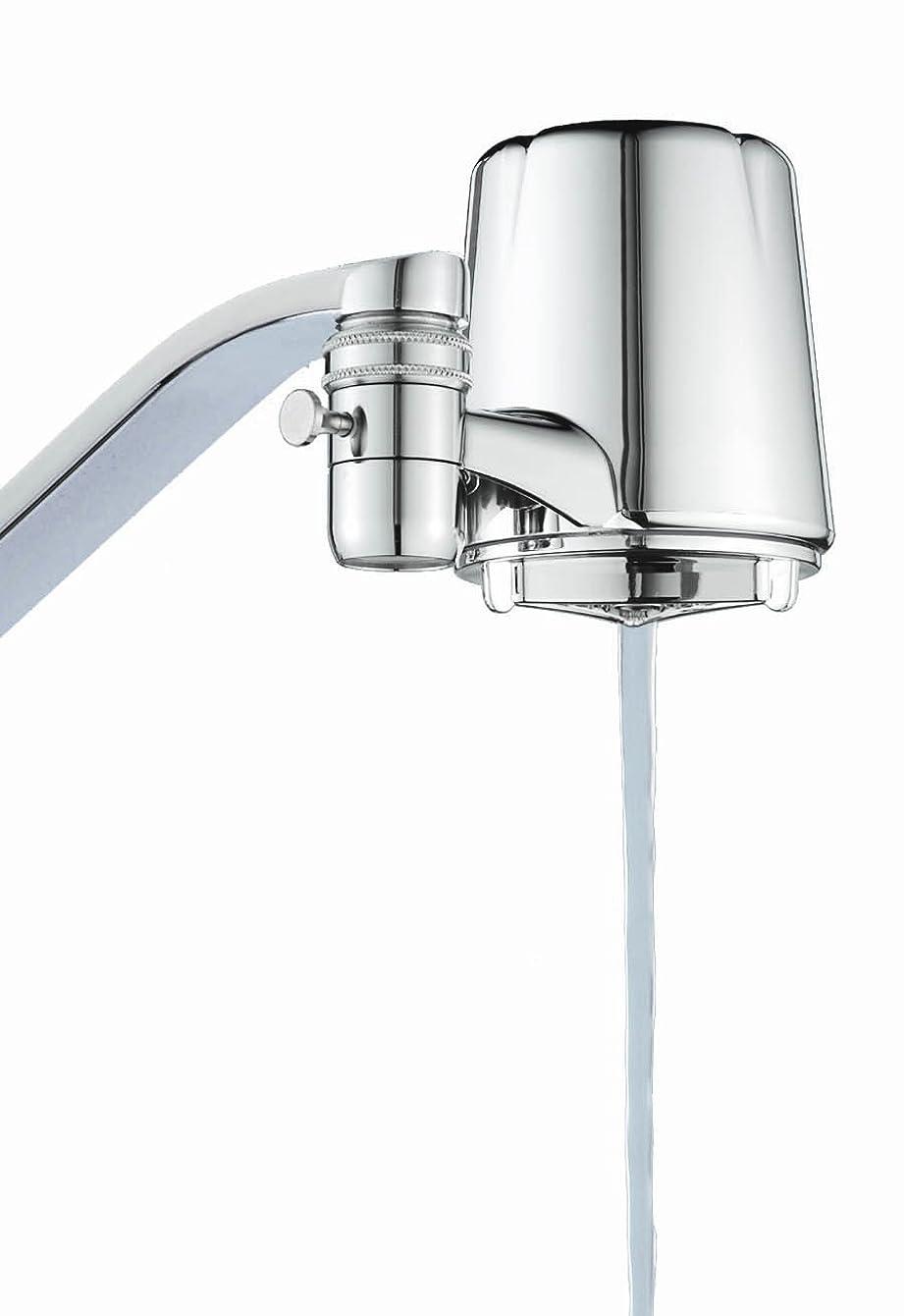 Culligan FM-25 Faucet Mount Filter with Advanced Water Filtration, Chrome Finish gjkmrutczoycz34