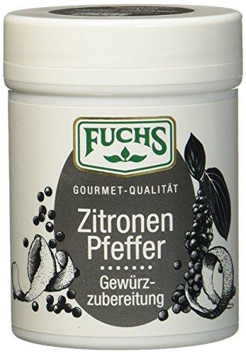 Fuchs Zitronen Pfeffer Gewürzzubereitung, 3er Pack (3 x 70 g)
