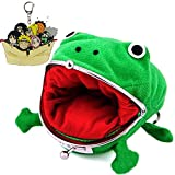 Vinctik 6&Fox Naruto Anime Cute Plush Frog Coin Purse with Naruto Keychain, Frog Coin Wallet for Halloween Cosplay Ninja Themed Party