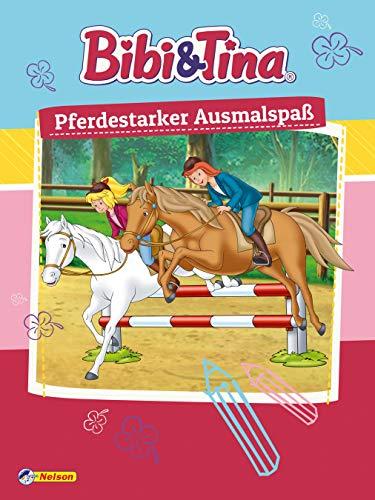 Bibi und Tina: Pferdestarker Ausmalspaß: Kinderbeschäftigung ab 3 (Bibi & Tina)