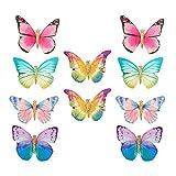 Hifot mariposa Pinza De Pelo Bebe Niñas 10 Piezas, horquillas pelo Infantiles Accesorios Pelo, Clips de pelo Adornos Para El Pelo