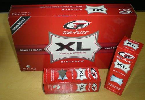 Top Flite 15 XL Pure Distance weiß vom PGA Pro