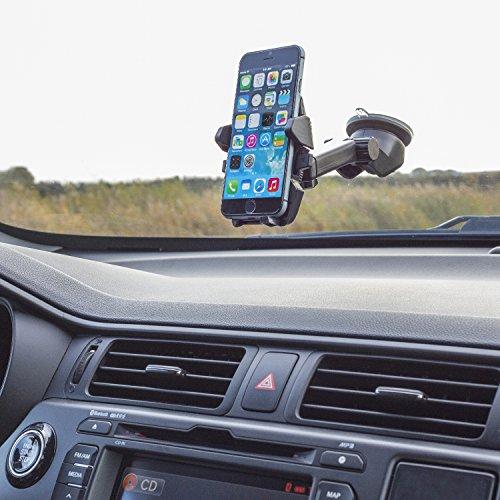 Eurosell Universal Saugnapf Halterung Halter KFZ Auto - zb für Android Smartphone Apple iPhone Huawei Samsung HTC Weko LG Motorola