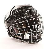 CCM Youth 3DS Ice Hockey Helmet Combo, White