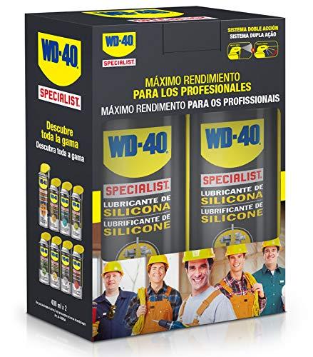 Lubricante de Silicona - WD-40 Specialist 400ml - Pack de 2 unidades