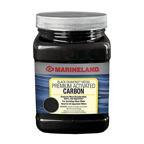 Marineland Black Diamond Premium Activated Carbon 10 Ounces, Filter Media For aquariums