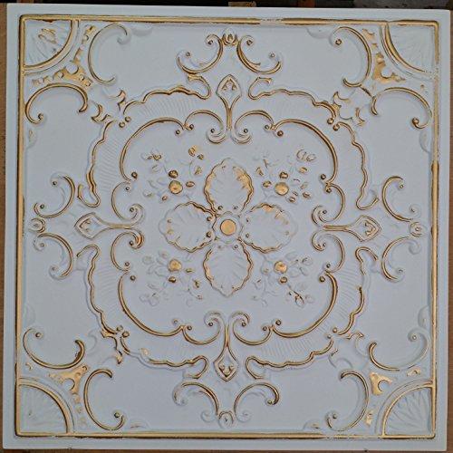 PL19 finiture piastrelle in latta da soffitto, in metallo, motivo: stampa in rilievo 3D di fondo photosgraphie 10pieces parete/decorazione per confezione