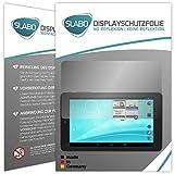 Slabo 2 x Bildschirmschutzfolie für TrekStor SurfTab Breeze 7.0 Bildschirmschutz Schutzfolie Folie No Reflexion | Keine Reflektion MATT