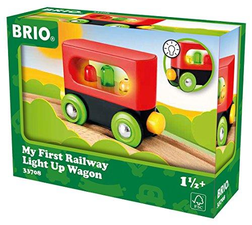 BRIO Bahn 33708 - Mein erster Waggon mit Licht