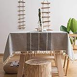 Oubonun Gray Tablecloth (55