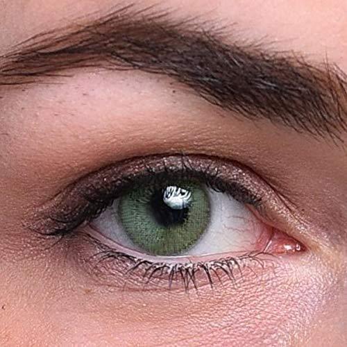 Grüne Kontaktlinsen | Jadegrün | natürlich farbige Kontaktlinsen | Farbige Kontaktlinsen ohne Stärke | MOOD-LENTILLES (französische Marke)