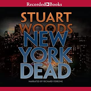 New York Dead audiobook cover art