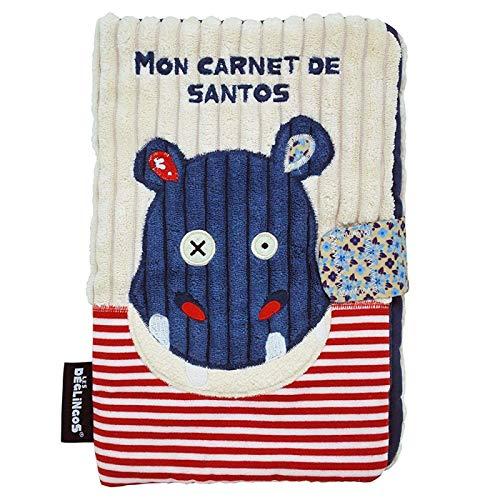 Protège carnet de santé pour bébé Cadeau de naissance Déglingos Hippopotame