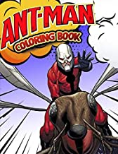 Ant-Man Coloring Book: Superhero Coloring Book With Best Jumbo Pictures For All Funs