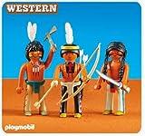 Playmobil 6272 - 3 nouveaux indiens (vendus en sachet)
