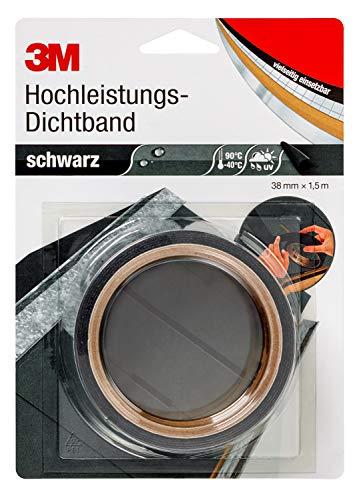3M Hochleistungs-Dichtband 4412N, 38 mm x 1.5 m, Schwarz