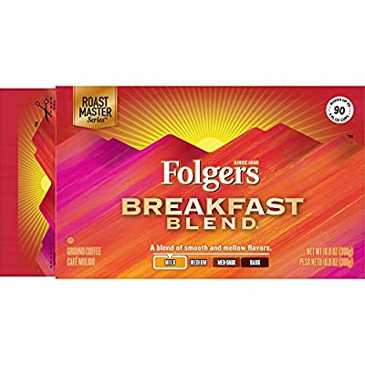 Folgers 100% Colombian, Medium-Dark Roast Ground Coffee Brick by Folgers
