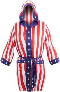 Rocky Balboa Apollo Movie Boxing American Flag robe
