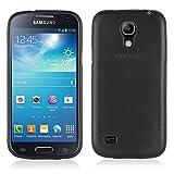 Cadorabo Coque pour Samsung Galaxy S4 Mini en Noir DE Jais – Housse Protection...