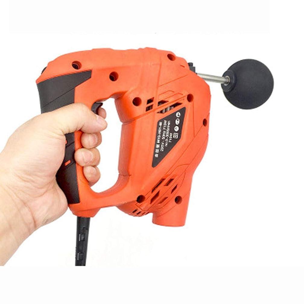 贈り物プライバシー生命体トレーニングリハビリ、筋膜銃、マッサージ深部筋肉リラクサー、振動電気フィットネス機器、赤25×20×7cm