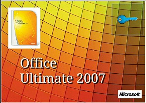 Microsoft Office 2007 Ultimate Vollversion - 1PC MULTILANGUAGE (Product OEM Key ohne Datenträger inkl. Rechnung, Downloadlink, Postversant mit einschreiben)
