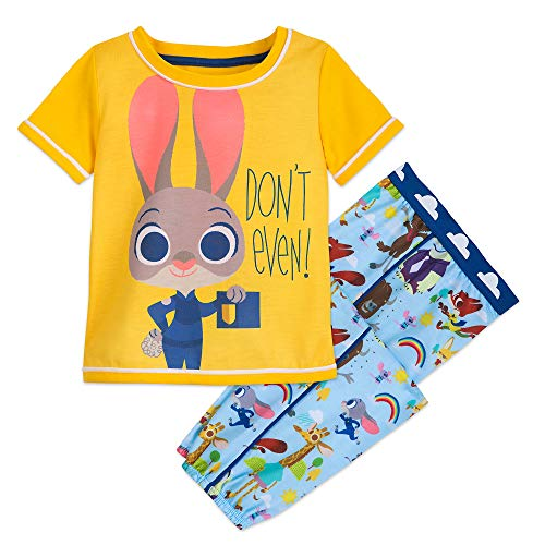 Disney Judy Hopps PJ Set for Girls - Zootopia Size 7/8 Multi