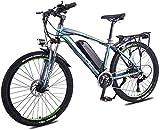 Nueva bicicleta de montaña eléctrica, Adulto bicicleta de montaña eléctrica, 350W 26 '' bicicleta eléctrica de 36V 13Ah con extraíble de iones de litio for los adultos, 27 velocidad Shifter , para muj