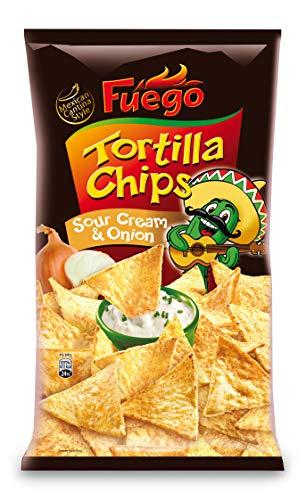 Fuego Tortilla Chips Sour Cream & Onion, 450 g 1130908