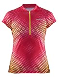 Craft Velo Graphic Jersey Maillot, Mujer, p Optic-Push, L