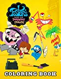Foster's Home for Imaginary Friends Coloring Book: An Amazing Coloring Book For Kids To Relax And Relieve Stress Through Many Foster's Home for Imaginary Friends Images