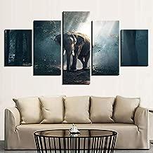 Decorative Mixed Media 5Piece Canvas Painting Set - Nature