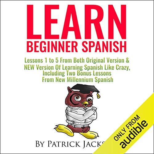 Page de couverture de Learn Beginner Spanish