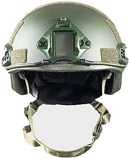 DNDZSW Deportes al Aire Libre PE Kevlar secundario Casco táctico de Tres Niveles Equipo de protección Combinado de Seguridad y Defensa Fast