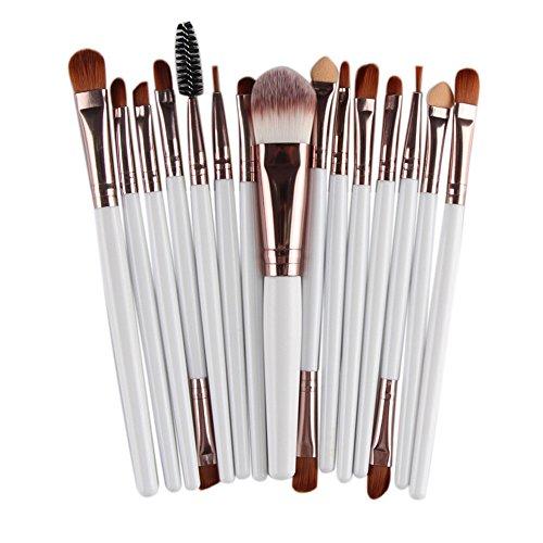 Yistu Sets de pinceaux de maquillage, occasion de luxe Maquillage Brosse Fard à Joues Fard à paupières Brosse Kits