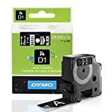 Best Price Square D1 Tape White/Black 24MM 53721 by DYMO