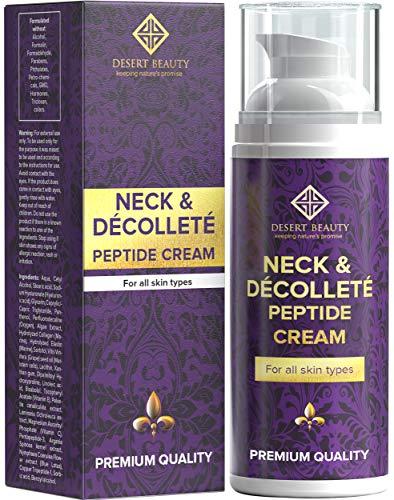 Neck Firming Cream, Anti Aging Moisturizer for Neck & Décolleté (3.38 oz / 100ml Large Bottle) |...