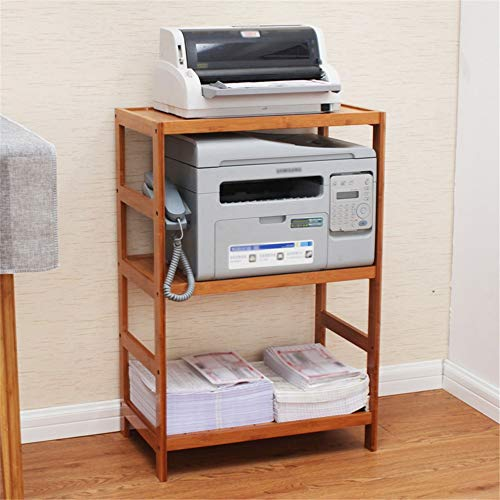 Impresora estante Impresora estante vertical en el suelo del estante del estante de escritorio de almacenamiento en rack rack de almacenamiento de documentos de la impresora en rack rack de piso Ofici