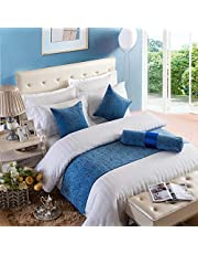 OSVINO Chenille Beddenloper, 1 stuks, effen, pluizig, warmtehoudend, bedlaken voor bank, slaapkamer, hotelkamer