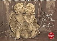 Engel - Die Worte der Liebe (Wandkalender 2022 DIN A2 quer): 12 Engelbotschaften begleiten Sie durchs Jahr. (Geburtstagskalender, 14 Seiten )