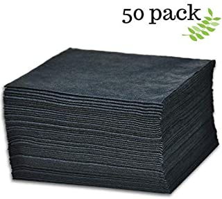 """DAVELEN Disposable Large Luxury Towels (50-Count) Spa and Salon Quality Softness for Guests, Clients 