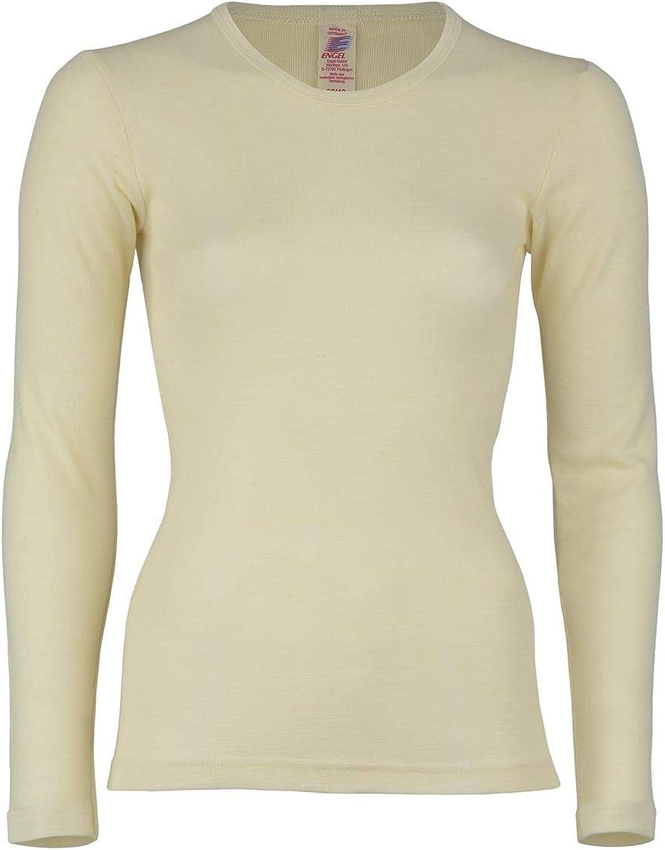 Engel 100% Merino Wool Women's TShirt Long Sleeved. Made in Germany.