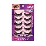 KISS I ENVY Multi Pack Eyelashes 3D So Wispy 08 KPEM67