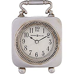 Howard Miller Kegan Table Clock 645-615 – Dial Light with Quartz Alarm Movement