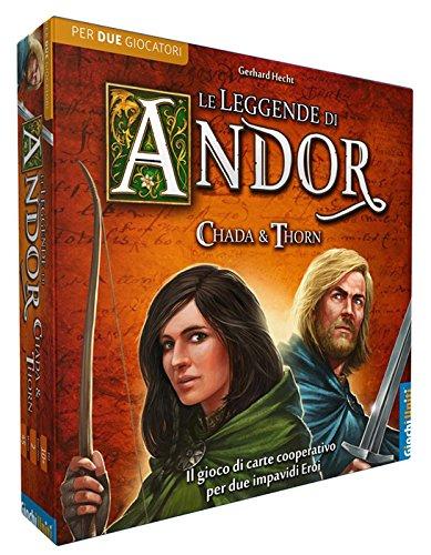 Giochi Uniti gu512–Spiel die Legenden von Andor: Chada & Thorn