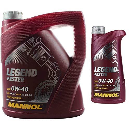 MANNOL 4+1 (5 Liter) Legend+Ester 0W-40 MOTORÖL