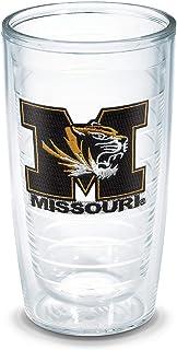 Tervis Missouri University Emblem Individual Tumbler, 16 oz, Clear -
